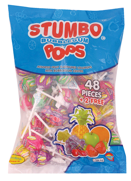 Stumbo Pops 48s Assorted