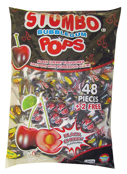 Stumbo Pops Black Cherry 48s Patel