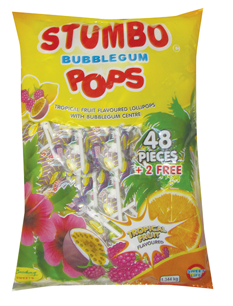 Stumbo Pops Tropical 48s Patels